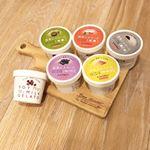 BIOKURAの豆乳ジェラートの食べ比べ(*'▽'*)このアイスは、卵、乳は不使用です。珍しい!!材料も少なく体に優しい!!豆乳、砂糖、味の食材、寒天のみ!砂糖は甜菜糖を使用されて…のInstagram画像