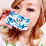 【Sea Blink】 @seablink_officialテラスハウスの山中美智子さんプロデュースのカラコン♡#アリシアスタン の水着みたいなパケがかわいい♡装着してるのは #MER…のInstagram画像