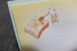 「★口と足で描く芸術家協会 口で描いた女子大好きスイーツの絵の付せんセット★」の画像(6枚目)