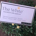 天気が良く暑い日が続くこの頃☀️そんな時も内側からの日焼け予防🕶東京銀座スキンケアクリニック監修のTheWhite♡10粒入りで外出30分前に1粒飲むだけ★約2〜3時間の間 紫…のInstagram画像