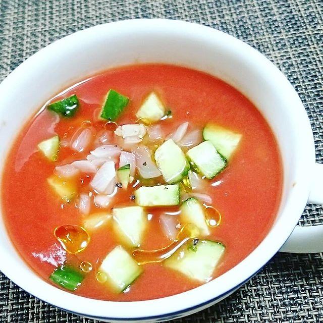 口コミ投稿:おはようございます😊「朝のリコ活!」@delmonte365_kikkoman でトマトジュースの美味…