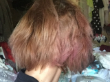 髪のうねり、ダメージ