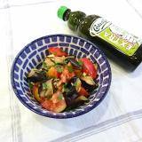 *【レシピ】なすとトマトのくるみサラダ*の画像(1枚目)