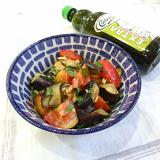 *【レシピ】なすとトマトのくるみサラダ*の画像(3枚目)