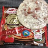 「時短料理 マルハニチロ「うす焼きピッツァトマトとモツァレラチーズ」2」の画像(1枚目)