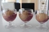 「桃にブルーベリー、西瓜、暑いしね。」の画像(2枚目)
