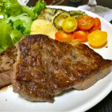シンプルにして最高のごちそう!神戸元町辰屋さんの神戸牛ステーキ!の画像(5枚目)