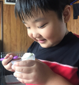 レインボーカキ氷を自宅で初体験!の画像(6枚目)