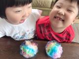 「レインボーカキ氷を自宅で初体験!」の画像(3枚目)