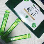 @euglena_one さんの#ユーグレナの緑汁 を飲みはじめた❗️❗️❗️・・🏖沖縄県の石垣産の🏖#ユーグレナ 🌿和名では#ミドリムシ 🌿・・#有機大麦…のInstagram画像