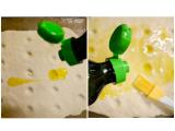 「コスタドーロのオリーブオイルで薄焼きフォカッチャ」の画像(6枚目)