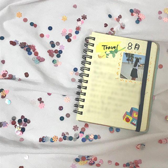 口コミ投稿:夏の思い出をシールにした〜!!日記を書いてみたよ!!#みんなのシール #夏休…