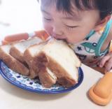 とろける食パンで幸せな朝食の画像(3枚目)