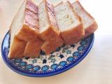 とろける食パンで幸せな朝食の画像(1枚目)
