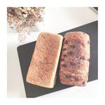 とろける食パン🍞...クリームパンで有名な八天堂のとろける食パンを食べてみたよ☺️気になってだから嬉しい💕.八天堂のとろける食パンは、生地にマーガリンや発酵バターを…のInstagram画像