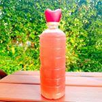 ・・今年も#紫蘇ジュース の季節がきた😍レモンを絞るときれいなピンクになるんです💟✨美味しくて色がきれいで好き☺ ・・外出先でも飲みたいから#マイボトル 🙋❤ペットボトルの…のInstagram画像