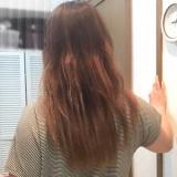 ハイダメージのうねり毛