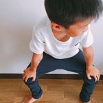 ニッセンのカットソーストレッチスキニーパンツをモニターさせていただきました🌻もうすぐ5歳の息子に120のパンツ。サイズ120は990円で買いやすい👍細身の息子にはちょっと大きめでした!生地がし…のInstagram画像
