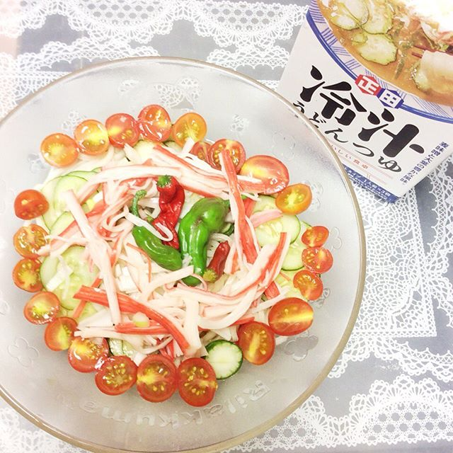 口コミ投稿:#正田醤油株式会社 から#麺でおいしい食卓 冷汁うどんつゆ☆#冷汁うどんつゆ は、#埼…