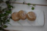 グジェリ陶器で淹れたお茶とポルボロンでティータイムの画像(2枚目)