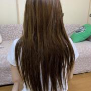 「ロングヘアです」【PRモデル募集】劇的before-after企画開催!あなたの髪も美髪に変身?約16,000円の高級ヘアケアグッズをプレゼント♪の投稿画像