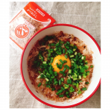 クラシルレシピ活用♪「わさび醤油&おかか卵かけご飯」を作ってみた!の画像(5枚目)