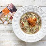 2019.9.1もち麦のスープを作りました。#キムチチーズ 味にしましたが、ポン酢で食べても美味しかったです😋#ダイエットメニュー にもってこい!#ダイエット #foodstagram…のInstagram画像