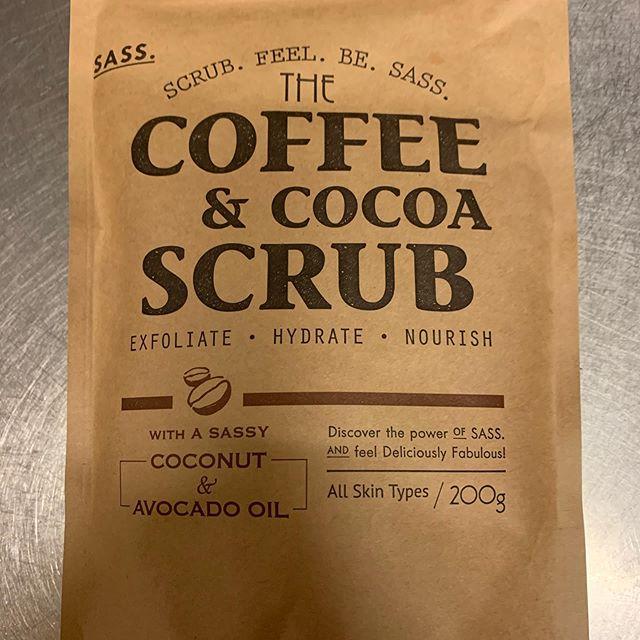 口コミ投稿:#sass #コーヒーアンドココアスクラブ  物凄いいい香り そしてナチュラル成分の多さ …