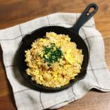「アカムラサキの焼き肉のたれでチャーハンを作ろう♪」の画像(2枚目)