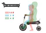 2y10m 三輪車は難しい?ディーバイク ダックスで「こぐ育」始めました!の画像(9枚目)