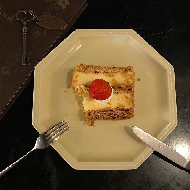 口コミ投稿:#ミルフィーユすごい美味しかった!!スイーツ美味しいから沢山食べちゃう、…