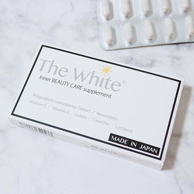 口コミ投稿:.@cellpure_cosmetics@tokyo_ginza_skincare_clinic.The White(ザホワイト)を飲んで…