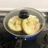 冷凍丸ごと鍋に入れるだけ!冷凍食品で簡単に五目あんかけラーメンを作ったよ!の画像(6枚目)