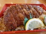 甘めのソースがおいしい 明治亭のソースかつ丼弁当の画像(2枚目)