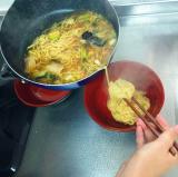 冷凍丸ごと鍋に入れるだけ!冷凍食品で簡単に五目あんかけラーメンを作ったよ!の画像(9枚目)