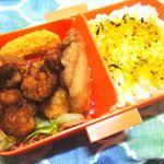 マルシェ 蓋がふわっとお弁当箱 1050円+税サイズは186×108×62mmです😊💜カラフルなお弁当箱に惹かれちゃったのですが、このお弁当箱カラフルだけぢゃないの‼️蓋がドーム型にな…のInstagram画像