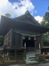 隠岐造り~水若酢神社の画像(3枚目)