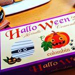 ㈱コロンバン様の【ハロウィン メルヴェイユコンコルド】をいただきました🍪マロン・パンプキン・コーヒーの味のクリームがサンドしてあるラングドシャクッキー🍪さくさくほろほろっとした軽い食感のク…のInstagram画像