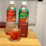 デルモンテさんのトマトジュース&野菜ジュース 900g🍅❤️...トマトジュースが本当に濃厚で美味し過ぎて思わず写真を撮る前にゴクゴク!!飲んでしまいまし…のInstagram画像