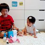 こゆたんによる子供用シャンプーのご紹介です✨ボトルも小さくて可愛い💝「ルレシャン」シャンプーとローションのセット♪#こゆたん#ルレシャン#子供用シャンプー#子供用ローシ…のInstagram画像