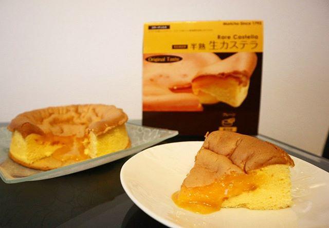 口コミ投稿:🥚今日のおやつは、長崎銘菓で有名な森長の半熟生カステラ☕️💛⋆ふわっとろで1人でペロ…