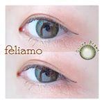.feliamo  olive brown:DIA 14.2mm ※カラーによってDIAが違います:BC 8.6mm:1dayまいやんがイメ…のInstagram画像