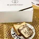八天堂さんのとろける食パン🍞...ワクワクしながら大きな箱を開けると二斤入った美味しそうなとろける食パン😍❣️...生地にマーガリンや発酵バターを…のInstagram画像