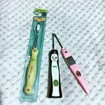 子どもの大好きなビタミンカラーのイエロー✨の歯ブラシを頂きました🙏KISS YOU というなんとも可愛らしいネーミングの歯ブラシを親子で使っているのですが、その替えブラシも…のInstagram画像