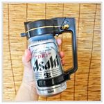 先日のお月見実家 の庭 で父に#晩酌 してきました( ´﹀` )#缶ビール とこちらの#ビールサーバー を片手に、まだまだ暑い 夜 夕涼み しながら…のInstagram画像