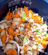 「おつゆで炊き込みご飯を作りました」の画像(2枚目)
