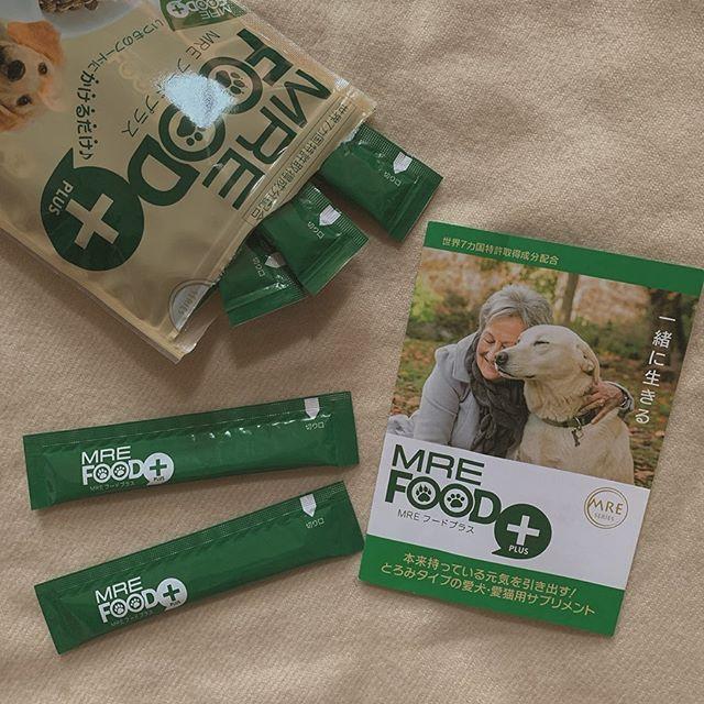 口コミ投稿:愛犬にはず~っと長生きしてほしい🌱💫💫愛犬・愛猫用健康サポートジュレ「MREフー…
