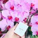 【#eyeshadow 🌈】蘭の花が鮮やかで美しいです💕🌸シンガポールには、#マルシュール@marcheur_official シャインアイズアイシャドウを持参しま…のInstagram画像