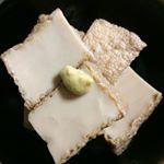 #舞昆 #発酵食品 #monipla #yogkan_fan #厚揚げの煮物1.厚揚げは四角に切り水から茹でて油抜き2.水でよく洗う3.だし汁、砂糖、醤油、味醂で落し蓋をして煮る4…のInstagram画像