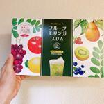 美容と健康に話題沸騰のスーパーフード「モリンガ」 そのモリンガ配合の青汁。フルーツモリンガスリム。朝食と一緒に頂きました。私の朝ごはん。毎日決まっています。…のInstagram画像